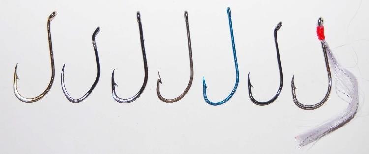 Крючки для ловли на фидер