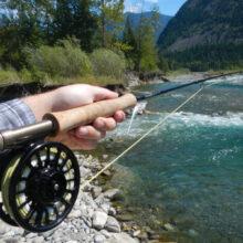 Весенняя рыбалка нахлыстом